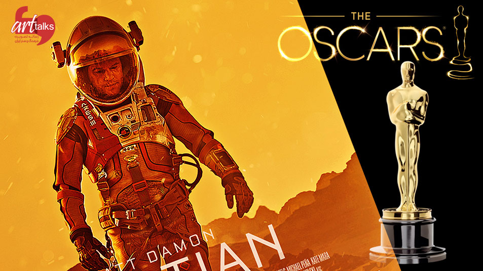 تک تاکس - پروندهی اسکار(7):معرفی فیلم: The Martian / مریخی - نامزد بهترین فیلم اسکار هشتاد و هشتم - techtalks.ir