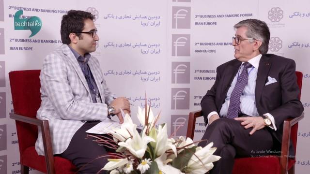 همایش تجاری و بانکی ایران اروپا(۱۳)- گفتگو با نادر مالکی، رئیس انجمن بین المللی بانکداران فرانکفورت