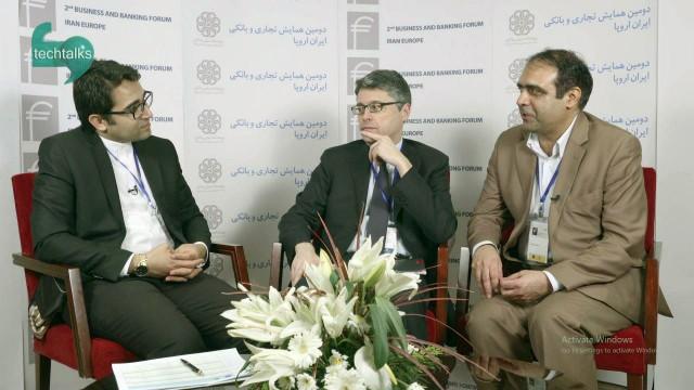 همایش تجاری و بانکی ایران اروپا(۲۵)- گفتگو با مهمانان خارجی-۷