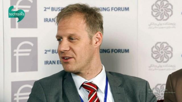 همایش تجاری و بانکی ایران اروپا(۲۰)- گفتگو با مهمانان خارجی-۵