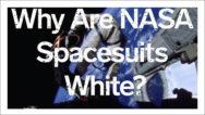چرا لباس فضانوردان سفید است