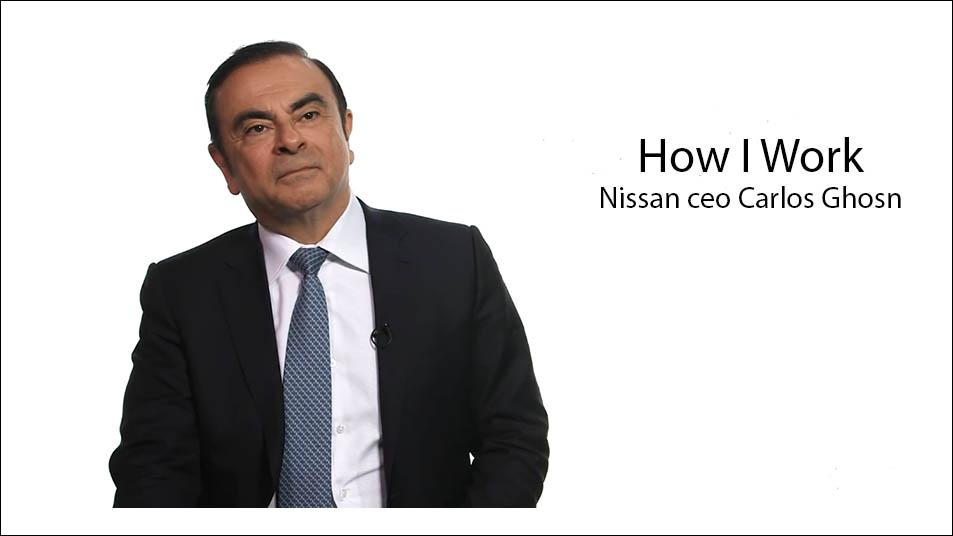 مصاحبه با کارلوس غصن مدیر عامل نیسان