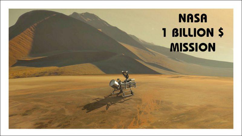 ماموریت 1 میلیارد دلاری ناسا