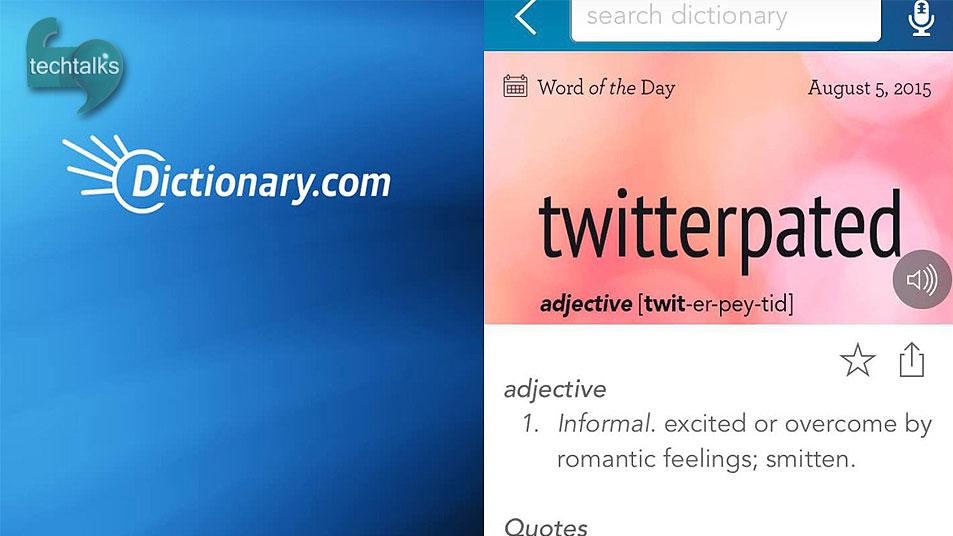 تک تاکس – Dictionary.com اپلیکیشنی برای هم زبان شدن – techtalks.ir